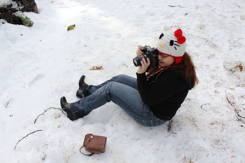 Where There's a Will, There's a Way ~ Behind the scenes of the Ice Queen shoot