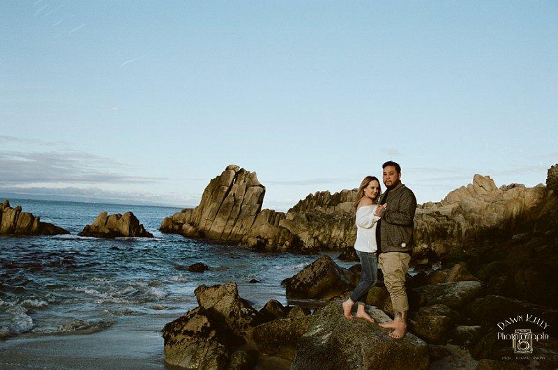 Lovers' Point Carmel Engagement: Kaitlyn + Julian