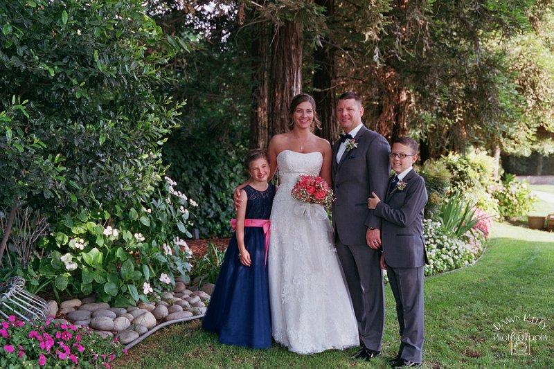 Rustic Vintage Gardens Modesto Wedding: Heather + Steven