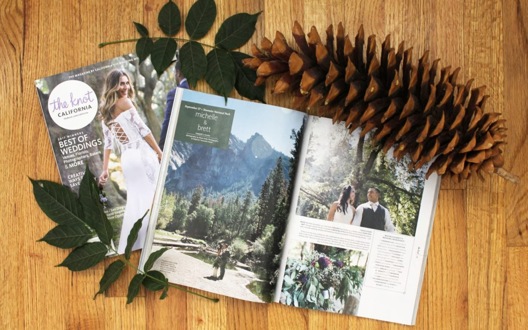 Dawn Kelly Photography Published in the Knot Magazine
