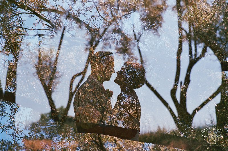 Fair Oaks Backyard Wedding: Meadow + Brian