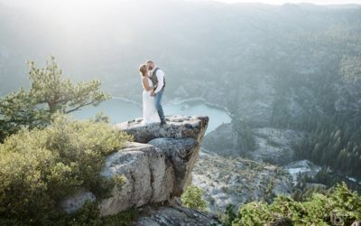 Donnell Vista Adventure Elopement: Sharice + Kyle