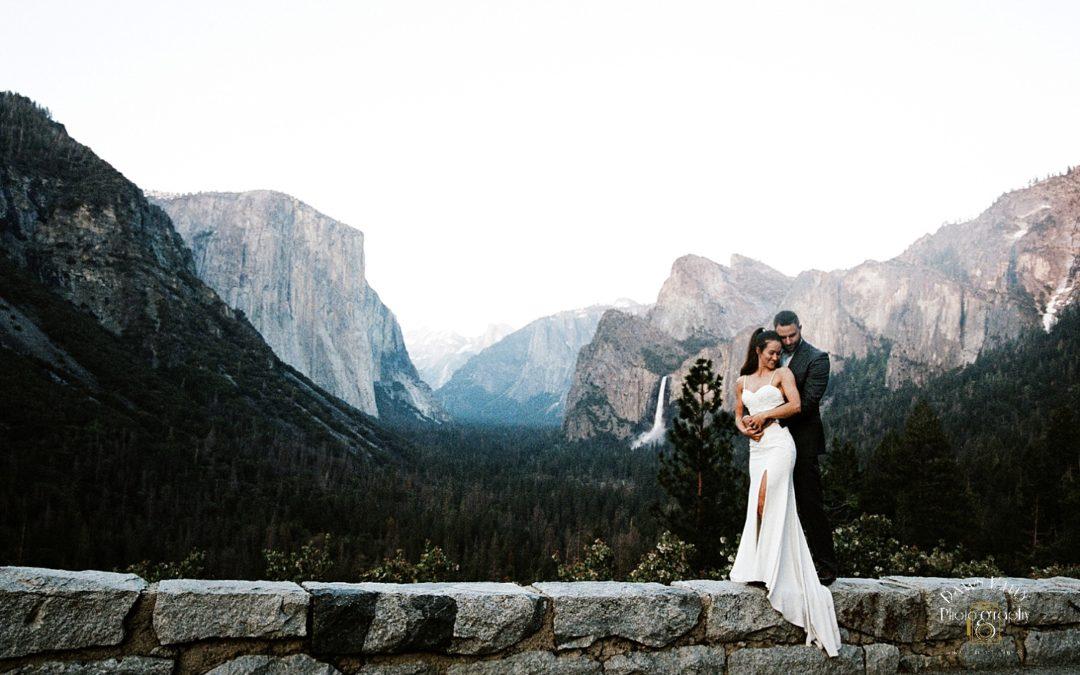 Yosemite Wedding Portraits: Sara + David