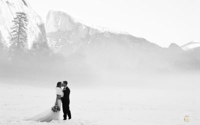 Winter Wonderland Yosemite Elopement: Kelli + Scott