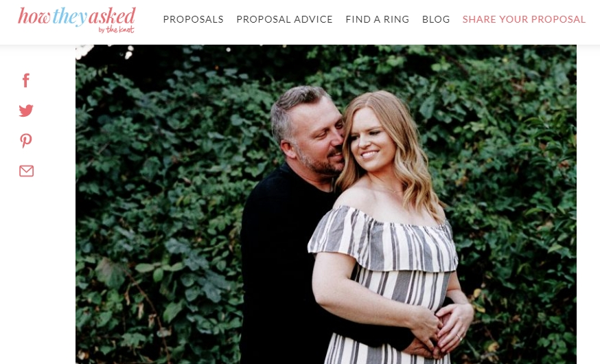 Kelly + Dave's Engagement: Published!