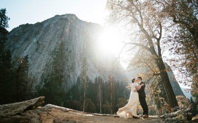 Intimate Yosemite Wedding: Megan + Niall