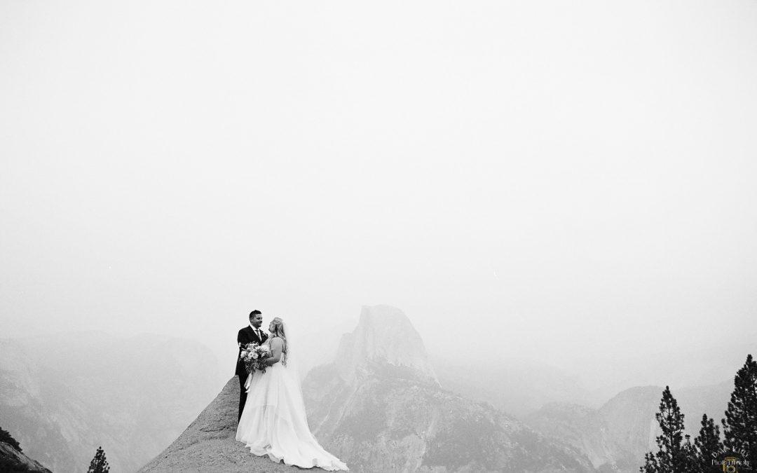 Glacier Point Yosemite Elopement: Callie + Jason