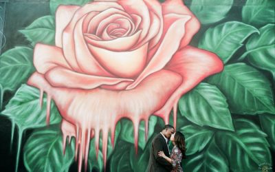 Downtown Modesto Engagement Session: Jessica + Cyrus