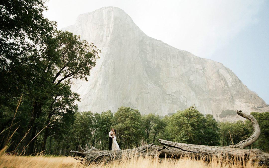 Glacier Point Yosemite Elopement: Jayden + Levi