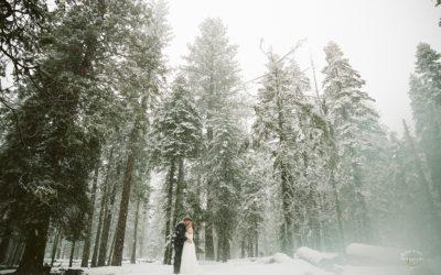 A Snowy Yosemite Elopement: Jordan + Lucas