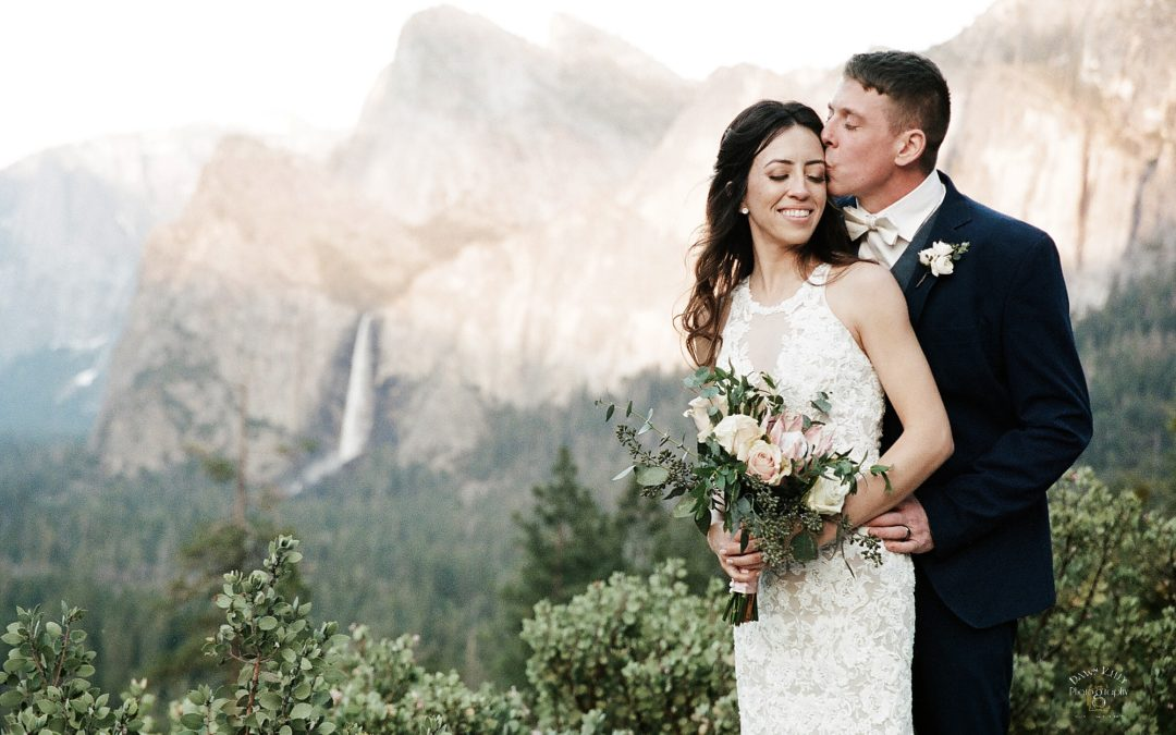 Spring Yosemite Elopement: Alisha + Kyle